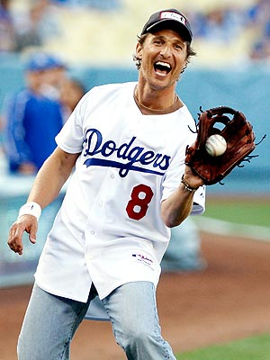 BASEBALL photo | Matthew McConaughey