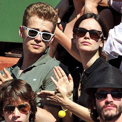 TENNIS photo | Hayden Christensen, Rachel Bilson