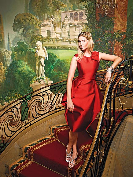 THE STAIRCASE photo | Ivanka Trump