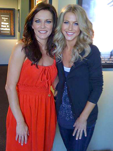 JULIANNE & MARTINA photo | Julianne Hough, Martina McBride