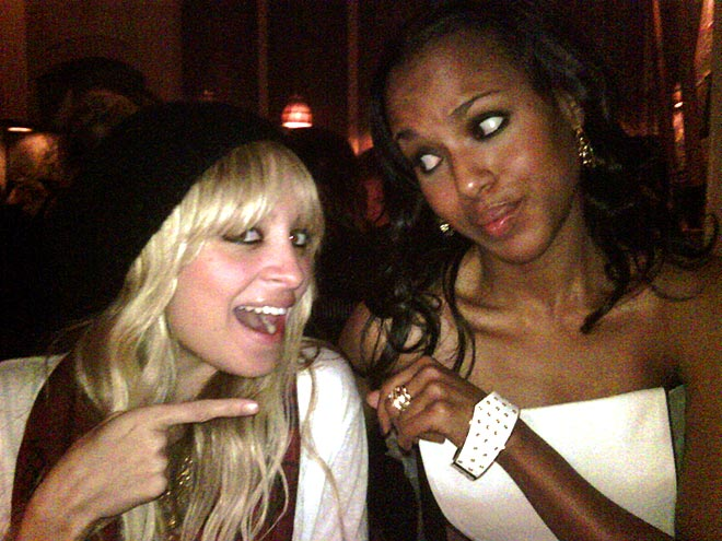 NICOLE & KERRY photo | Kerry Washington, Nicole Richie
