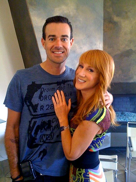 KATHY GRIFFIN photo | Carson Daly, Kathy Griffin
