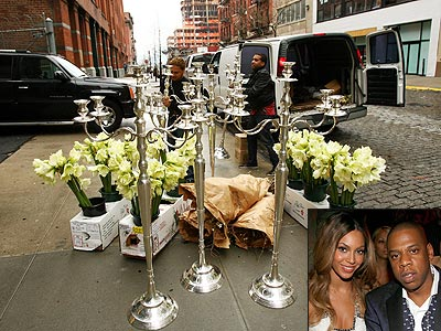 THEY HAD 50,000 ORCHIDS! photo | Beyonce Knowles, Jay-Z