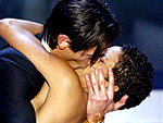 Which Best Actor Is a Wet Kisser? | Adrien Brody, Halle Berry