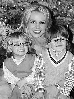 PHOTO: Check Out Britney Spears's Holiday Card