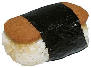 Barack Obama Snacks on Hawaiian Spam Sushi| Barack Obama