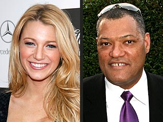 Blake Lively, Laurence Fishburne to Present Golden Globes | Blake Lively, Laurence Fishburne