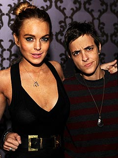 lindsay lohan broke up with samantha ronson