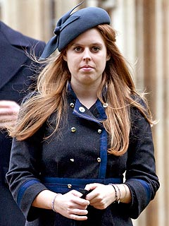 Thief Makes Off with Princess Beatrice's BMW