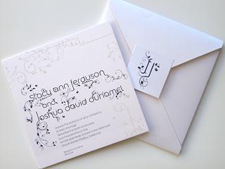 Check Out Josh & Fergie's Wedding Invitation, Caricature| Weddings, Fergie, Josh Duhamel