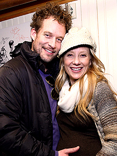 Pregnant Anne Heche Cuddles with James Tupper at Sundance | Anne Heche