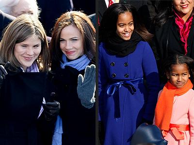 Jenna & Barbara Bush Give Advice to Sasha & Malia