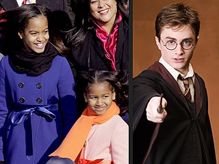 Daniel Radcliffe Invites Obama Girls to Hogwarts