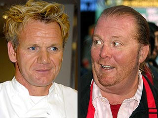Gordon Ramsay Cooks Up More Zingers for Rival