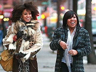 PHOTO: Melinda Doolittle Braves NYC's Cold Streets for Video