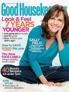 Sally Field Hates Aging – But No Knife, Please