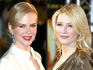 Nicole Kidman, Cate Blanchett Happy to Be Licked &#8211; on Stamps