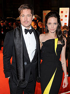 Brad Pitt Serves As Butt of Mick Jagger's Joke | Angelina Jolie, Brad Pitt