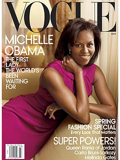 Michelle Obama Appears on the Cover of Vogue