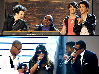 Who Delivered the Most Memorable Grammy Performance? | Jonas Brothers, M.I.A.