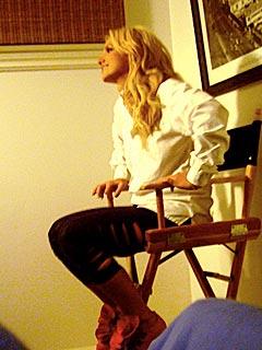 SNEAK PEEK: In the Bedroom on Britney's Video Shoot