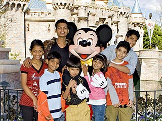 It's a Small World for Slumdog Kids at Disneyland