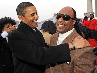 Barack Obama to Honor His Musical Hero, Stevie Wonder
