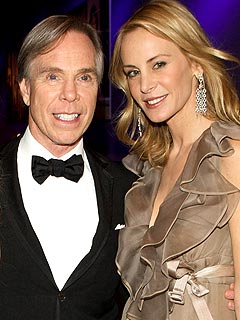 Family photo of the designer, married to Dee Ocleppo, famous for Tommy Sport & Tommy Girl.
