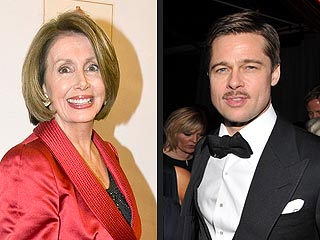 Brad Pitt to Meet with Nancy Pelosi