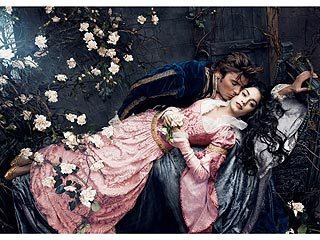 PHOTO: Zac & Vanessa Play Prince Charming and Sleeping Beauty