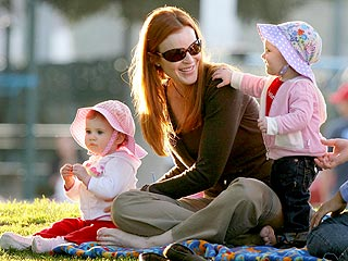 Marcia Cross's Twins Are Obsessed with Coffee Breaks, The Car