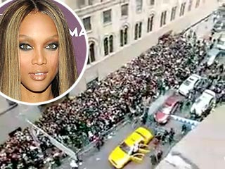 Tyra Banks Welcomes Back Aspiring Models After Melee