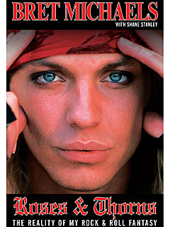 FIRST LOOK: See Bret Michaels's New Book Cover