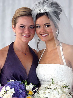 Danica McKellar's Sister Calls Wedding 'Magical'