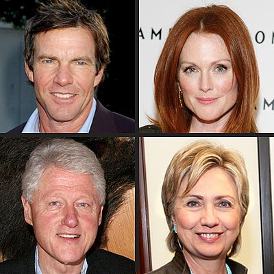 Dennis Quaid, Julianne Moore Aim for White House