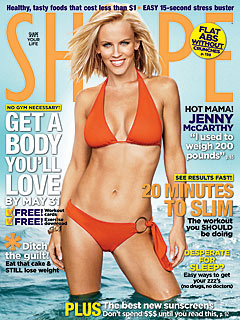 Jenny McCarthy Reveals Body-After-Baby Secrets