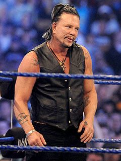 Mickey Rourke Scores a Knockout at Wrestlemania