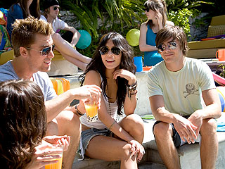 Zac Efron Enlists Celeb Pals for 'Pool Party from Hell'