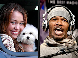'Comedian' Jamie Foxx Apologizes to Miley Cyrus