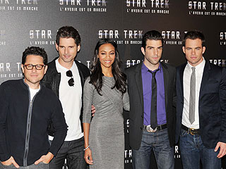 New Star Trek Cast Beams into Paris