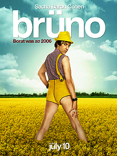 PHOTO: Get a (Rear) View of Sacha Baron Cohen's Brüno