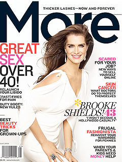 Brooke Shields Likes Her Body, Hates Her Wrinkles
