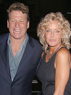 Farrah Fawcett Celebrates with Ryan O'Neal on His Birthday