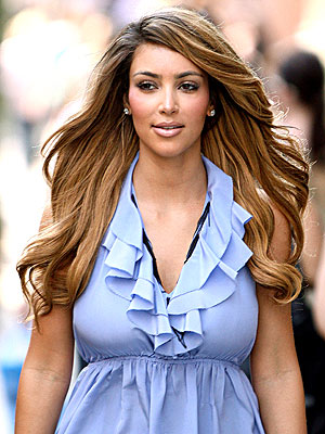 Kardashian Hair Styles on Kim Kardashian Lightens Up  Love It Or Hate It      Style News