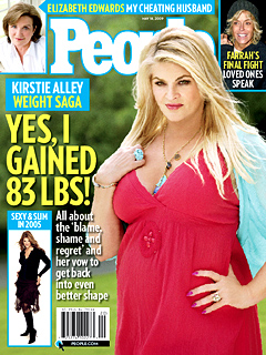 Kirstie Alley: 'Yes, I Gained 83 Pounds'