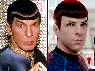 Spock on Spock: Nimoy and Quinto Sound Off