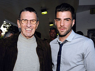 Spock on Spock: Leonard Nimoy and Zachary Quinto Sound Off| Star Trek, Movie News, Leonard Nimoy, Zachary Quinto