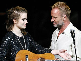 Sting's Daughter Recovering after Injury | Sting