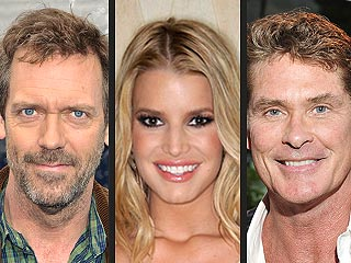 Hugh Laurie! Jessica Simpson! They're Big Overseas