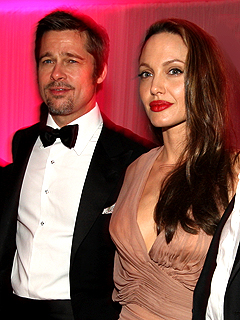 Brad and Angelina Party Past 1 A.M. in Cannes